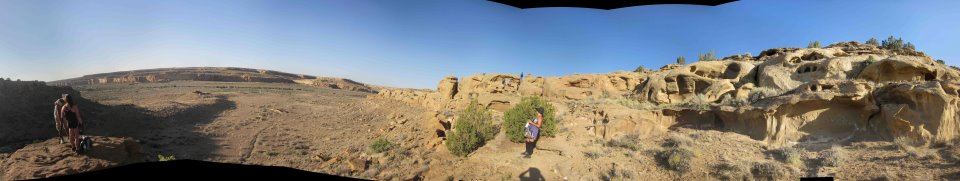 Production on Chaco Canyon Digital Dome Project